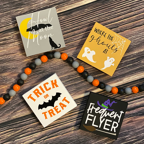 Halloween Themed Signs