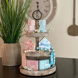 Baby Themed Tiered Tray Decor Bundle