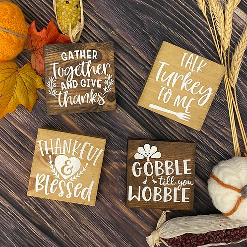 Thanksgiving Signs