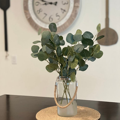 Silver Dollar Eucalyptus Floral Arrangement