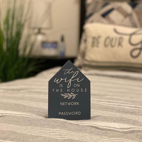 Mini House Wifi Sign