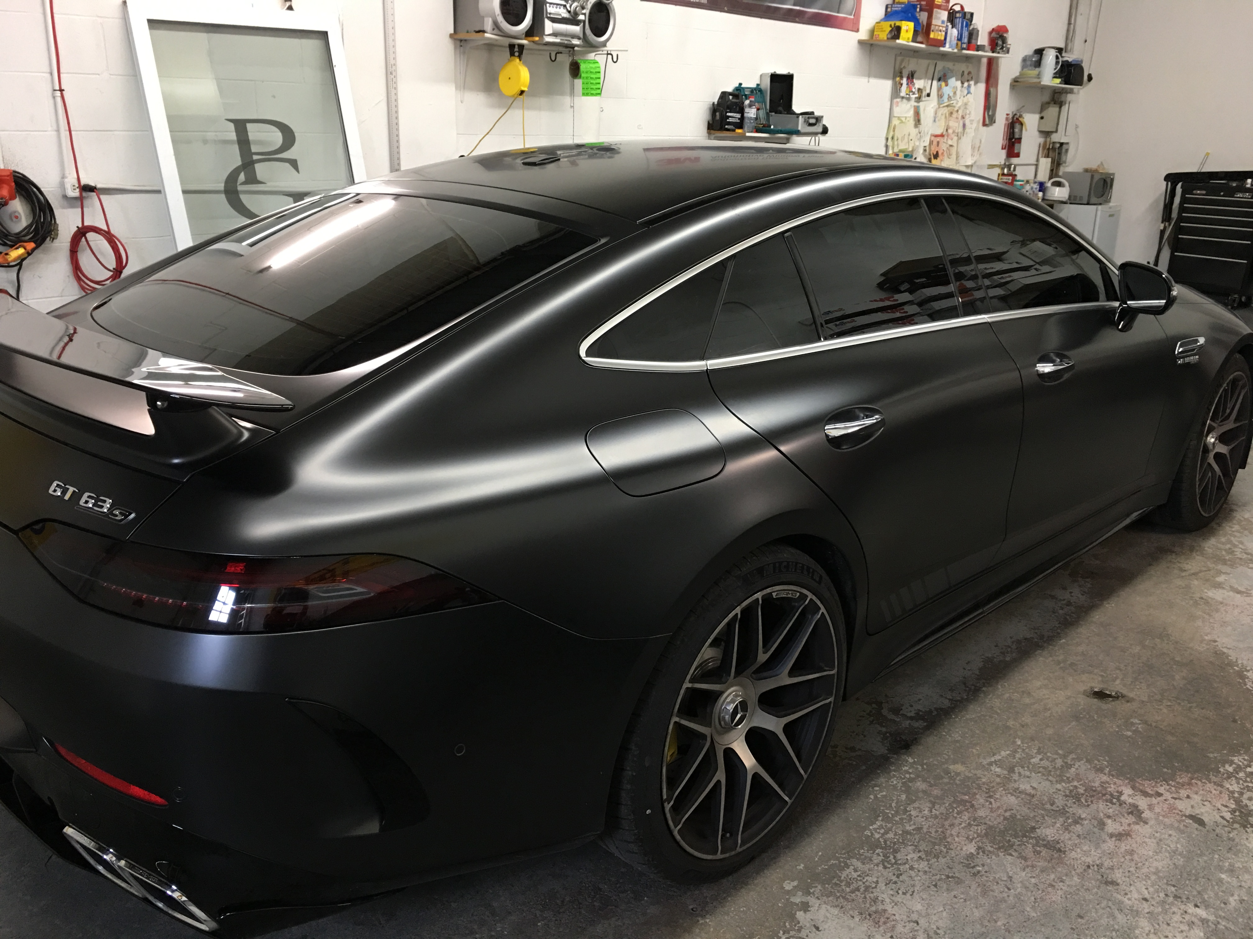 2018 MERCEDES BENZ GT 63 S
