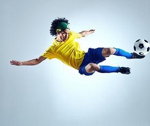 soccer football kick striker scoring goa