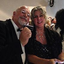 at the 2016 Grammy awards with Dan Garner