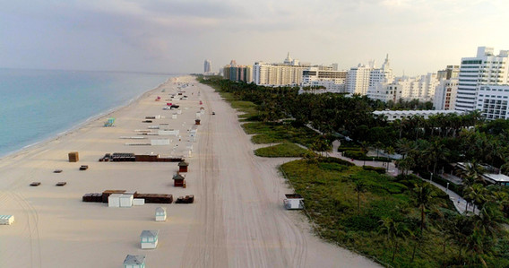 South Beach Closed, April 2020 (by D. Beard)
