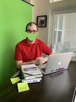 Working From Home: Life In Front of a Green Screen (by Eric)