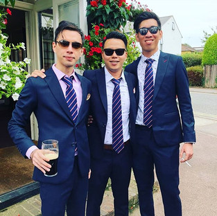 What do you get when 3 good looking men