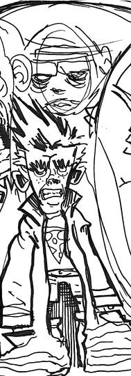 Jack Lantern: Ghost Puncher poster sketch