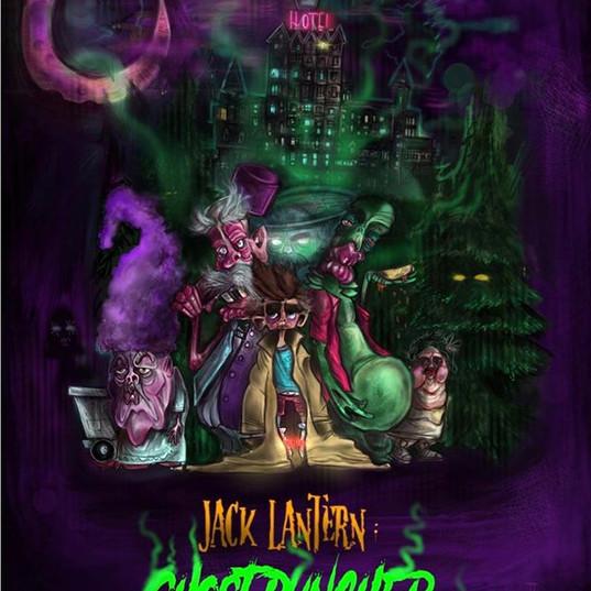 """JACK LANTERN: GHOST PUNCHER"" TV Show Poster"