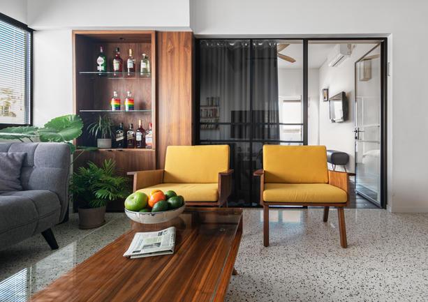 Bauhaus Apartment Tel Aviv Interior Design Tom Shakked