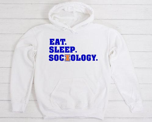 Eat Sleep Sociology Hoodie