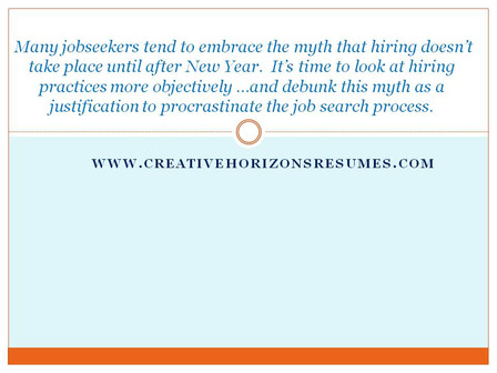 Carve Out Time for Productive Job Searching This Holiday Season