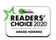 Support Our Unique Vision & Mission: Nominated in Readers' Choice