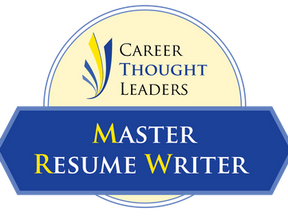 Master Resume Writer Credential Renewal: Part of an Elite Group of 25 MRWs Worldwide