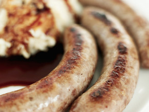 Maple turkey sausage or beyond meat