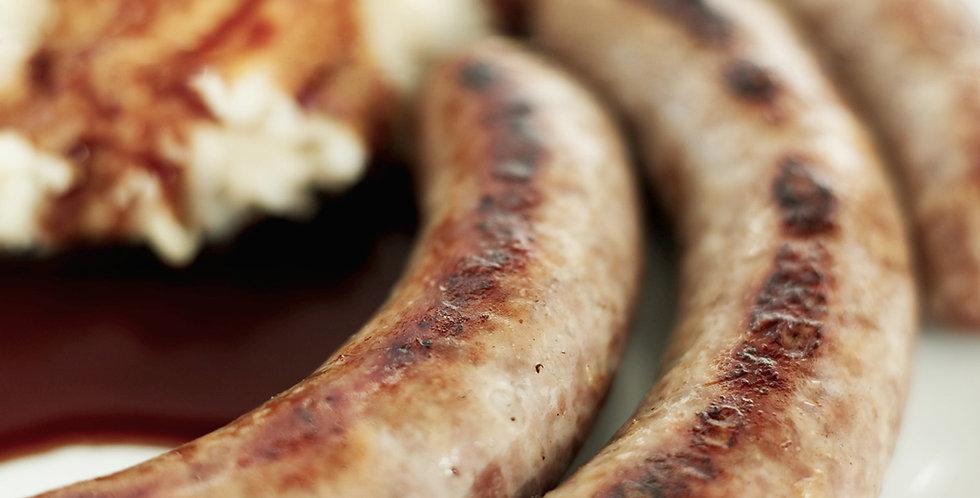 Wiltshire Pork Sausages - pack 6