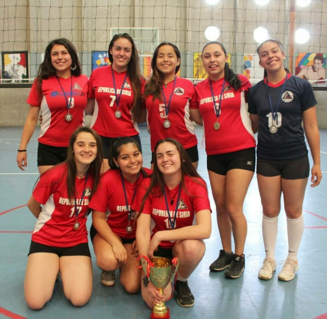Vicecampeonas voleibol6