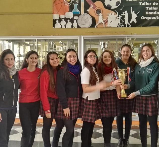 Triunfadoras Campeonato Voleibol