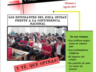 Revista SIRIA EN SERIO 2019. volumen 4