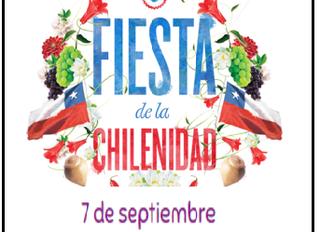 Invitación a la FIESTA DE LA CHILENIDAD sede media.