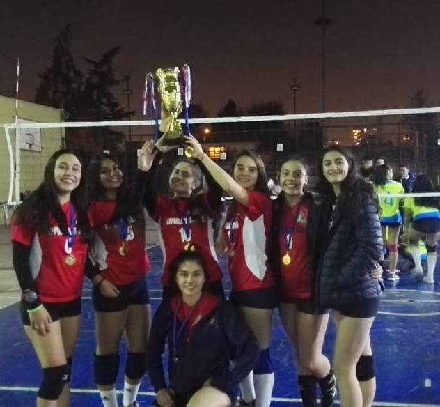 Campeonato Voleibol femenino 3