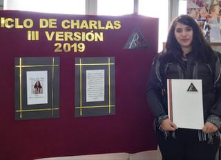 Charla Inaugural: Natalia Juica Oliva. Bioquímica.