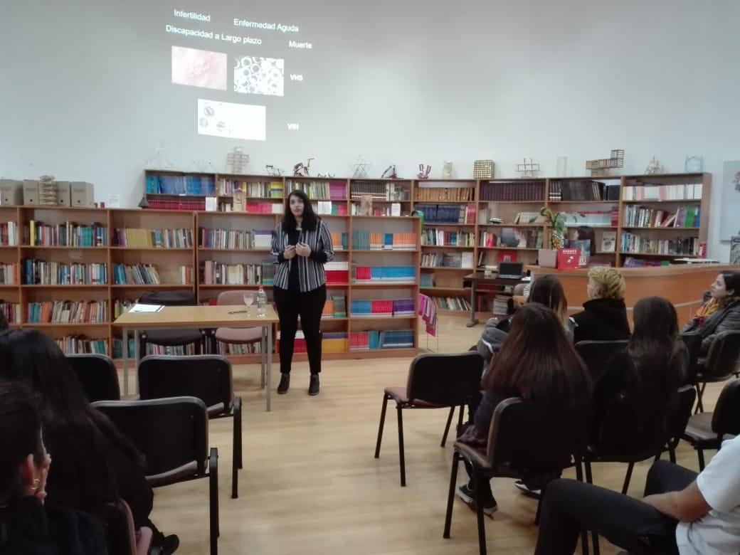 Charla Natalia Juica 4+ -20 -08-2019