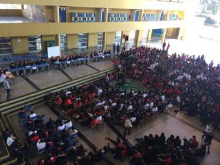 Debate Listas que postulan al Centro de Estudiantes 2018 sede media.