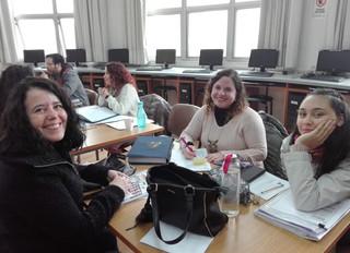 Cierre de semestre. Actividad conjunta entre profesores y nuestros apoderados.