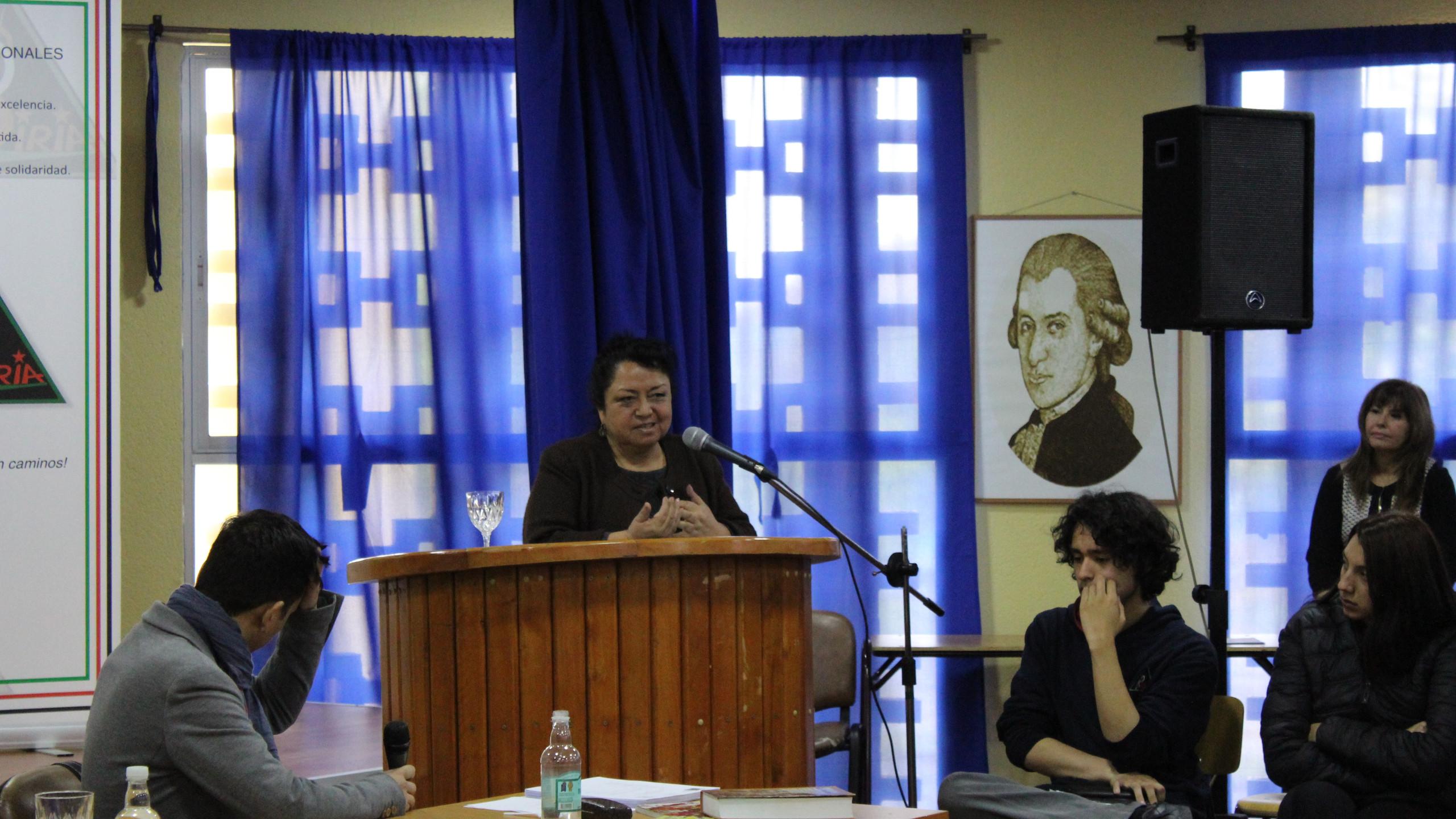 charla Graciela Huinao1