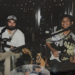 Polaroid Shot of ʻĀ Collective Duo