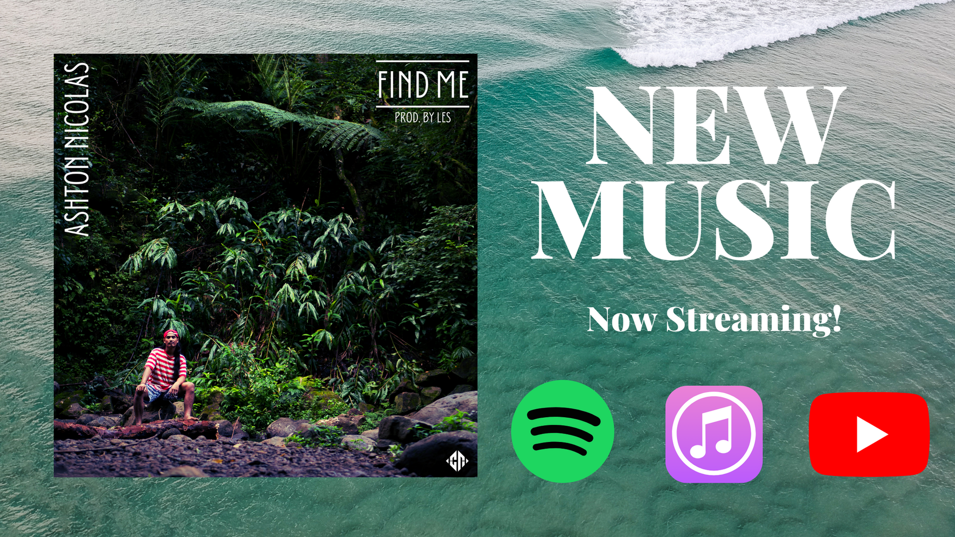Find Me by Ashton Nicolas now streaming