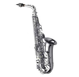 Yanagisawa-AWO1S-Eb-Alto-Saxophone,-Silv