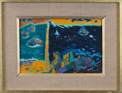 Cubist seascape