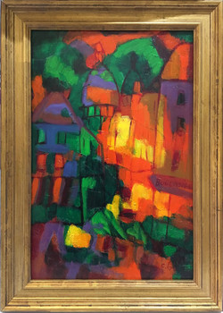 Montmartre abstract