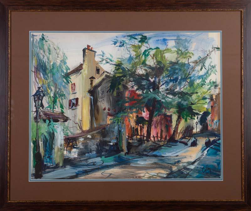 Scene in Monmartre