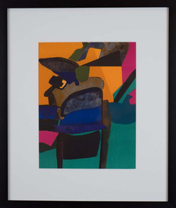 Abstract print by Maurice Estève