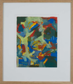 Abstract watercolor by Halvey