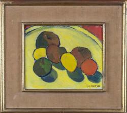 Fruit still life by Juliette Chopin