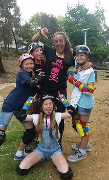 skateboard she shreds australia girl