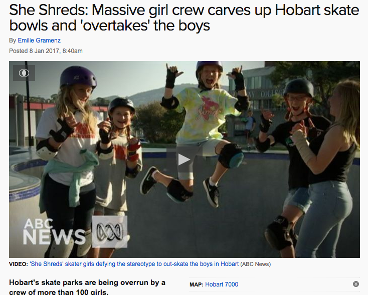 ABC News report on the crew