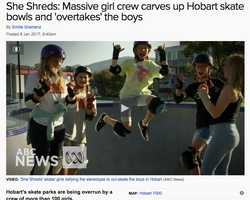 ABC News report on the crew
