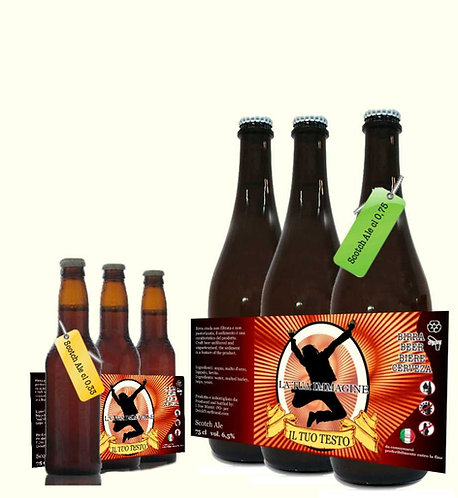 Confezione 3 Bott. Scotch Ale cl 0,33 . cl 75