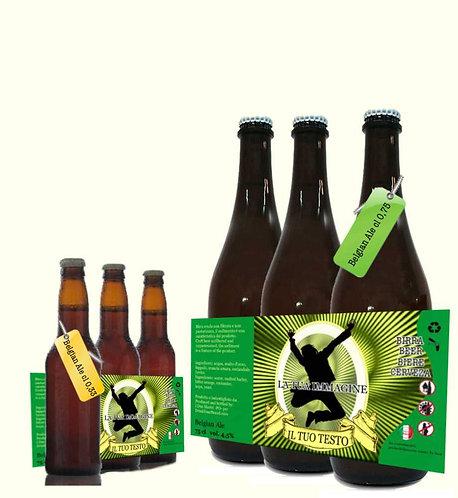Confezione 3 Bott. Belgian Ale cl 0,33 . cl 75