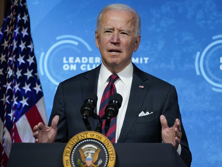 """Biden Orders """"Climate Risk Financial Strategy"""" for the US"""