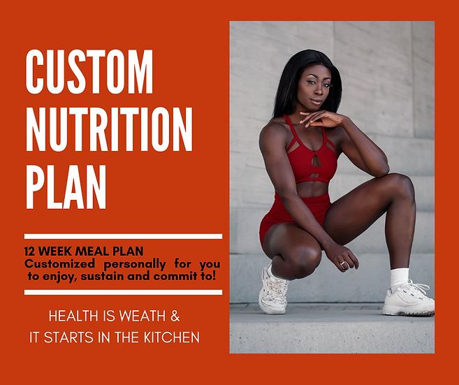 12 Week Nutrition Plan