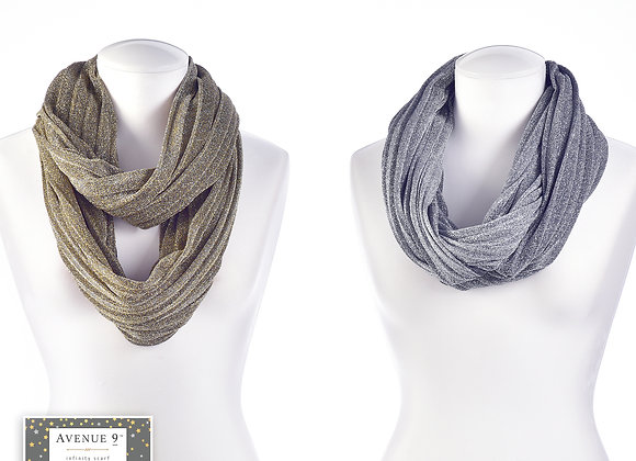 Infinity Scarf -  2 Assorted Colors
