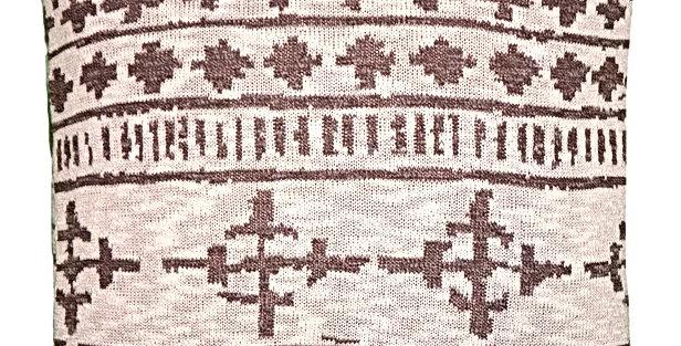 Almofada Tricot Tribal