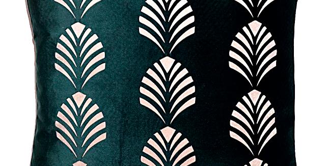 Almofada Veludo Green 02