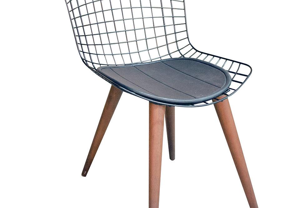 Cadeira Wood Bertoia